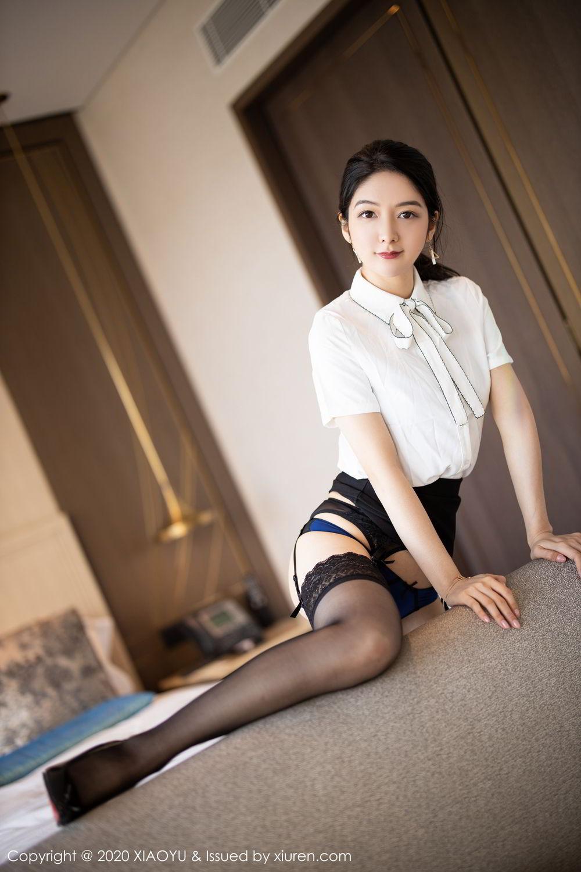 [XiaoYu] Vol.258 Xiao Re Ba 26P, Black Silk, Di Yi, Tall, XiaoYu