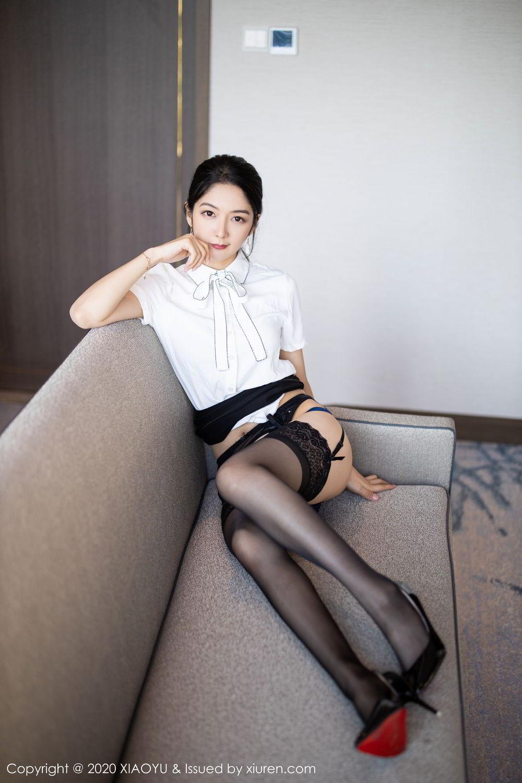 [XiaoYu] Vol.258 Xiao Re Ba 31P, Black Silk, Di Yi, Tall, XiaoYu