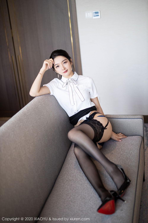 [XiaoYu] Vol.258 Xiao Re Ba 32P, Black Silk, Di Yi, Tall, XiaoYu