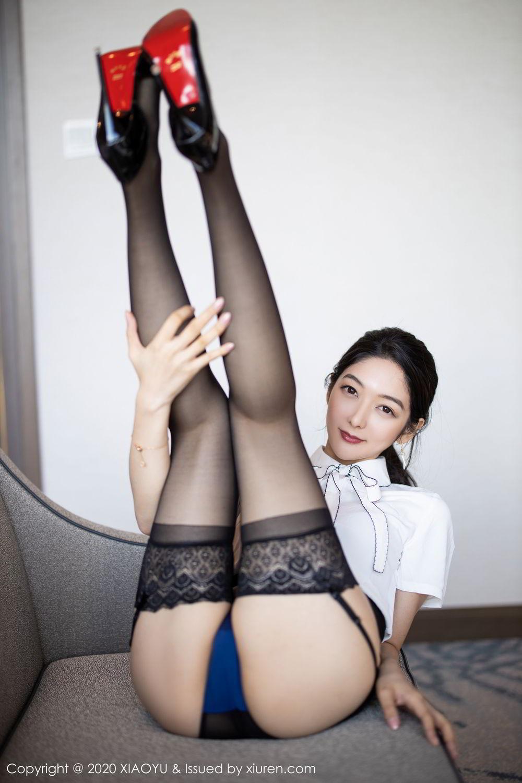 [XiaoYu] Vol.258 Xiao Re Ba 36P, Black Silk, Di Yi, Tall, XiaoYu