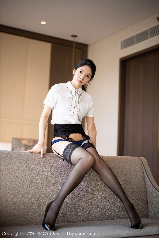 [XiaoYu] Vol.258 Xiao Re Ba 38P, Black Silk, Di Yi, Tall, XiaoYu