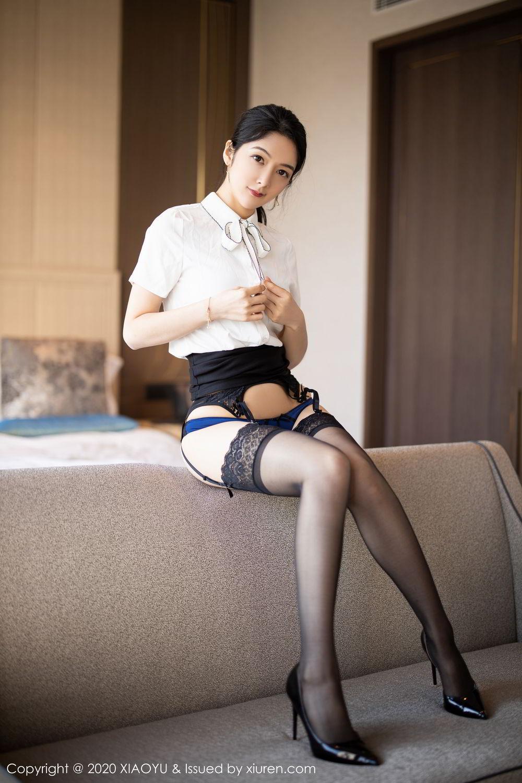 [XiaoYu] Vol.258 Xiao Re Ba 39P, Black Silk, Di Yi, Tall, XiaoYu
