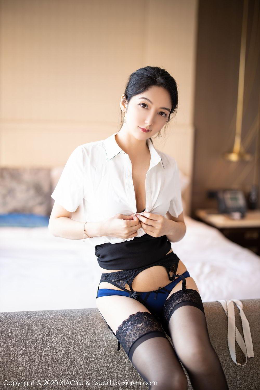 [XiaoYu] Vol.258 Xiao Re Ba 45P, Black Silk, Di Yi, Tall, XiaoYu