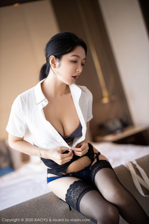 [XiaoYu] Vol.258 Xiao Re Ba 47P, Black Silk, Di Yi, Tall, XiaoYu