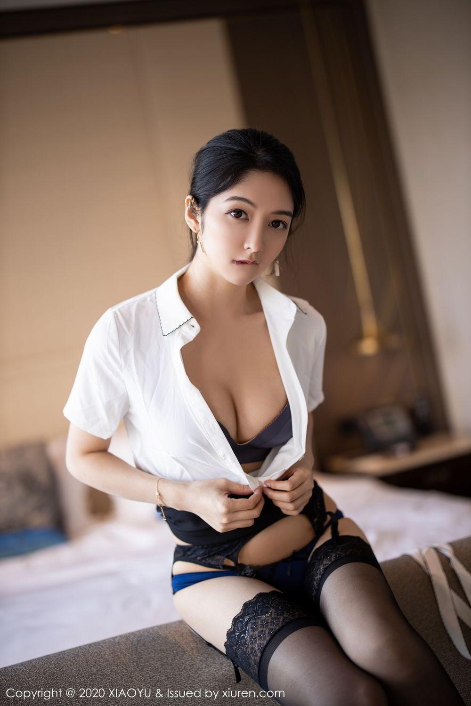 [XiaoYu] Vol.258 Xiao Re Ba 48P, Black Silk, Di Yi, Tall, XiaoYu