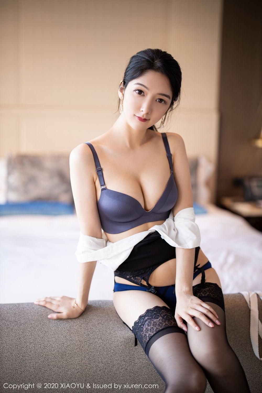 [XiaoYu] Vol.258 Xiao Re Ba 50P, Black Silk, Di Yi, Tall, XiaoYu