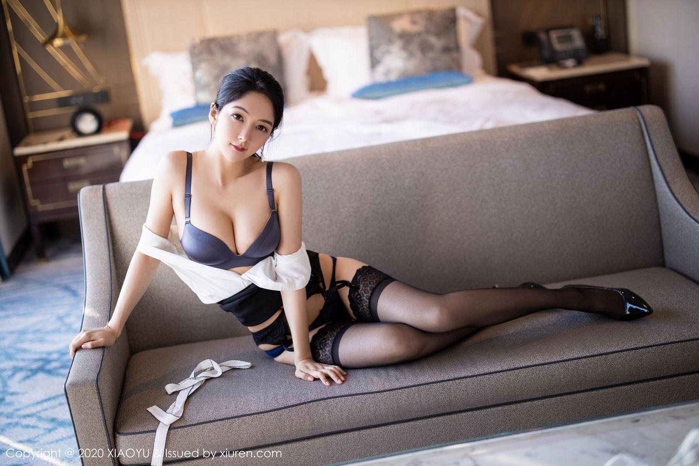 [XiaoYu] Vol.258 Xiao Re Ba 51P, Black Silk, Di Yi, Tall, XiaoYu