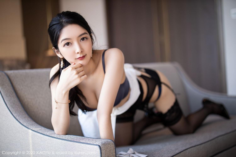 [XiaoYu] Vol.258 Xiao Re Ba 64P, Black Silk, Di Yi, Tall, XiaoYu