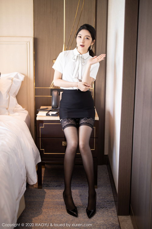 [XiaoYu] Vol.258 Xiao Re Ba 7P, Black Silk, Di Yi, Tall, XiaoYu