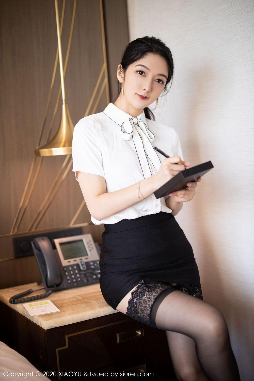 [XiaoYu] Vol.258 Xiao Re Ba 9P, Black Silk, Di Yi, Tall, XiaoYu
