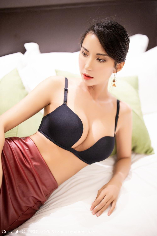 [XiaoYu] Vol.265 Carry 35P, Black Silk, Chen Liang Ling, Tall, Underwear, XiaoYu