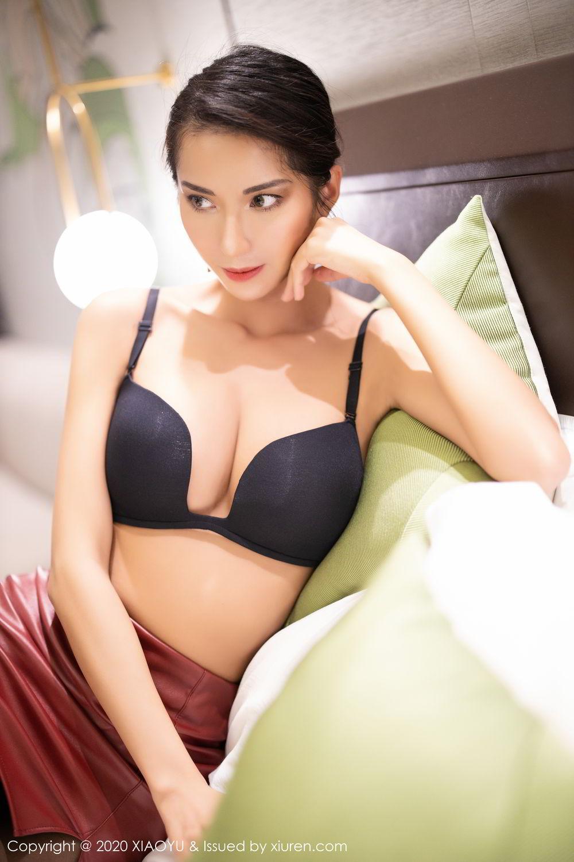 [XiaoYu] Vol.265 Carry 48P, Black Silk, Chen Liang Ling, Tall, Underwear, XiaoYu