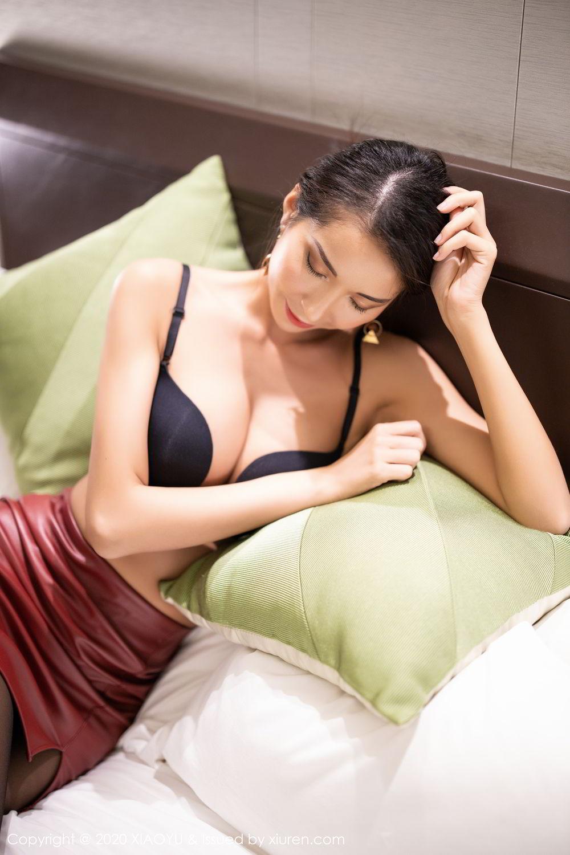 [XiaoYu] Vol.265 Carry 50P, Black Silk, Chen Liang Ling, Tall, Underwear, XiaoYu