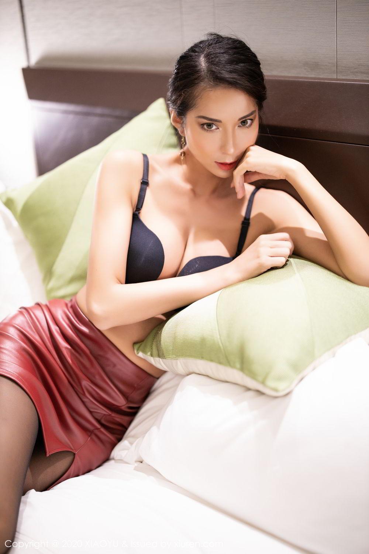 [XiaoYu] Vol.265 Carry 51P, Black Silk, Chen Liang Ling, Tall, Underwear, XiaoYu