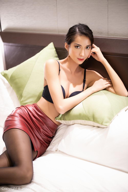 [XiaoYu] Vol.265 Carry 52P, Black Silk, Chen Liang Ling, Tall, Underwear, XiaoYu