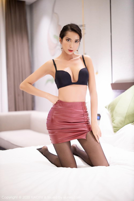[XiaoYu] Vol.265 Carry 68P, Black Silk, Chen Liang Ling, Tall, Underwear, XiaoYu