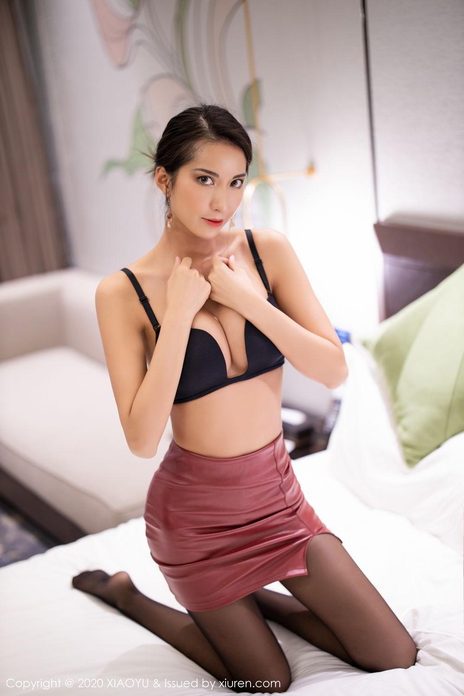 [XiaoYu] Vol.265 Carry 72P, Black Silk, Chen Liang Ling, Tall, Underwear, XiaoYu