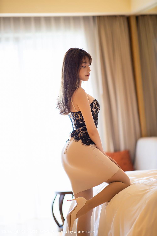 [XiaoYu] Vol.266 Zhi Zhi Booty 16P, Big Booty, Chen Zhi, Tall, XiaoYu