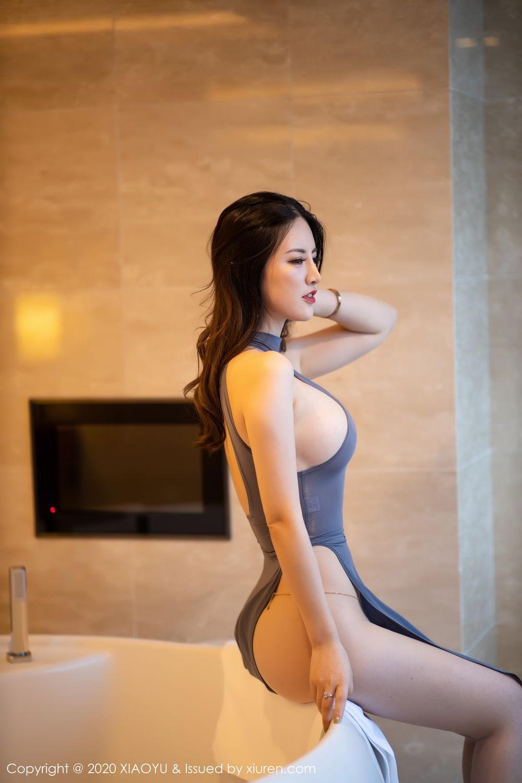 [XiaoYu] Vol.268 Shi Shi Kiki 10P, Black Silk, Chen Shi Shi, Underwear, XiaoYu