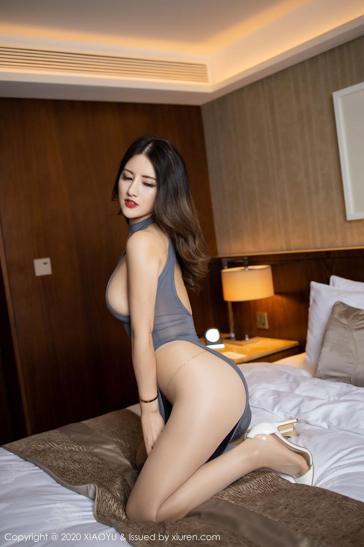 [XiaoYu] Vol.268 Shi Shi Kiki 17P, Black Silk, Chen Shi Shi, Underwear, XiaoYu