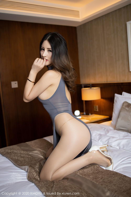 [XiaoYu] Vol.268 Shi Shi Kiki 18P, Black Silk, Chen Shi Shi, Underwear, XiaoYu