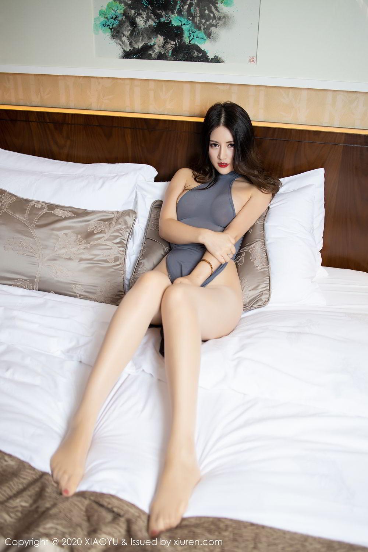 [XiaoYu] Vol.268 Shi Shi Kiki 25P, Black Silk, Chen Shi Shi, Underwear, XiaoYu