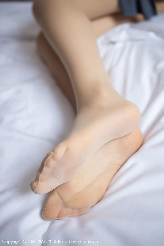 [XiaoYu] Vol.268 Shi Shi Kiki 30P, Black Silk, Chen Shi Shi, Underwear, XiaoYu