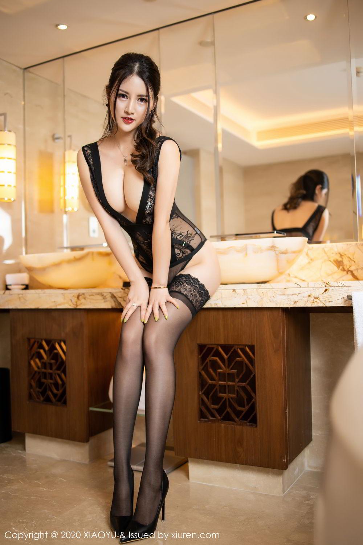 [XiaoYu] Vol.268 Shi Shi Kiki 39P, Black Silk, Chen Shi Shi, Underwear, XiaoYu