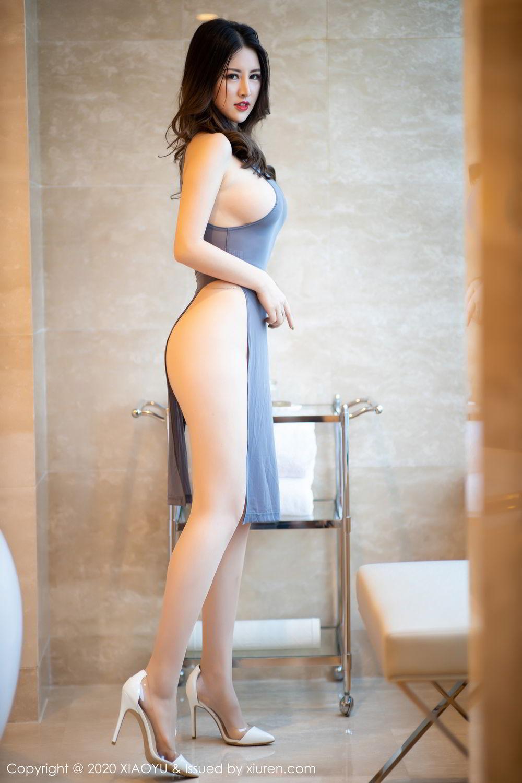 [XiaoYu] Vol.268 Shi Shi Kiki 3P, Black Silk, Chen Shi Shi, Underwear, XiaoYu
