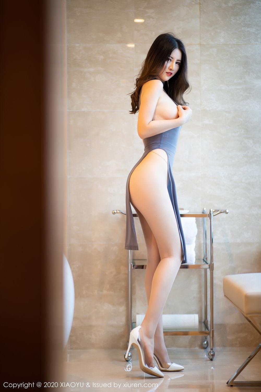 [XiaoYu] Vol.268 Shi Shi Kiki 4P, Black Silk, Chen Shi Shi, Underwear, XiaoYu