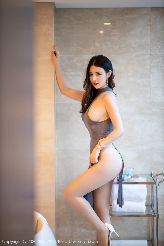 [XiaoYu] Vol.268 Shi Shi Kiki 6P, Black Silk, Chen Shi Shi, Underwear, XiaoYu
