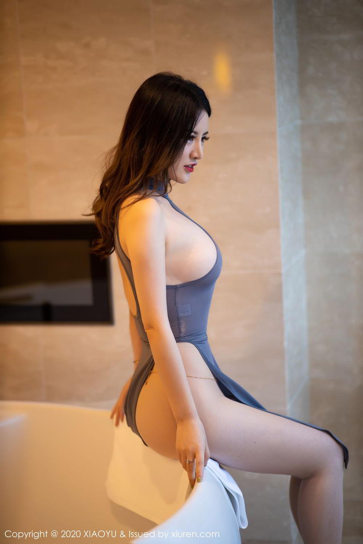 [XiaoYu] Vol.268 Shi Shi Kiki 9P, Black Silk, Chen Shi Shi, Underwear, XiaoYu