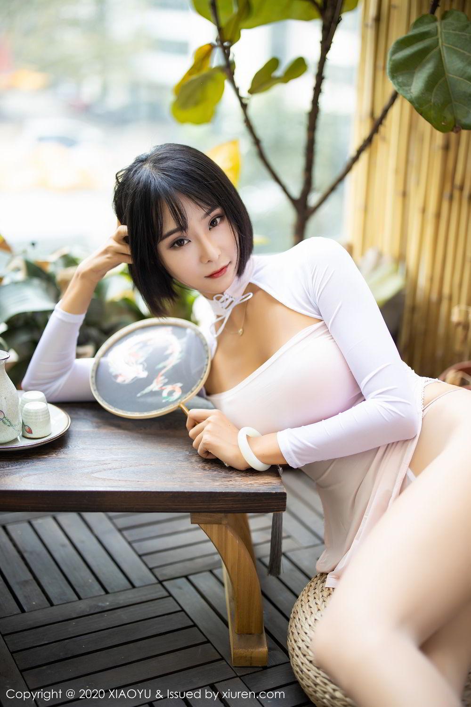 [XiaoYu] Vol.269 Lan Xia Akasha 16P, Liu Yi Lei, Tall, Underwear, XiaoYu