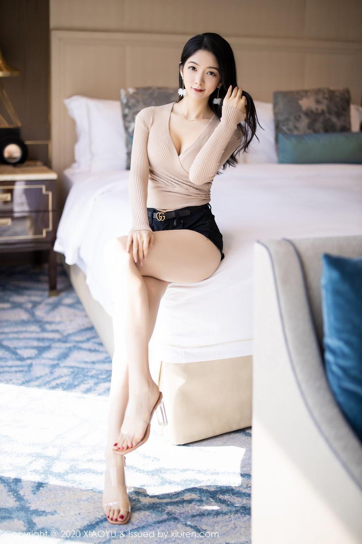 [XiaoYu] Vol.271 Di Yi 10P, Black Silk, Di Yi, Underwear, XiaoYu