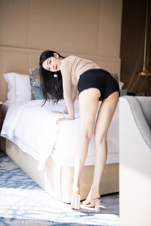 [XiaoYu] Vol.271 Di Yi 11P, Black Silk, Di Yi, Underwear, XiaoYu