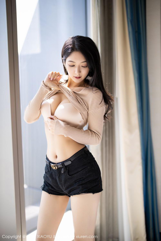 [XiaoYu] Vol.271 Di Yi 15P, Black Silk, Di Yi, Underwear, XiaoYu
