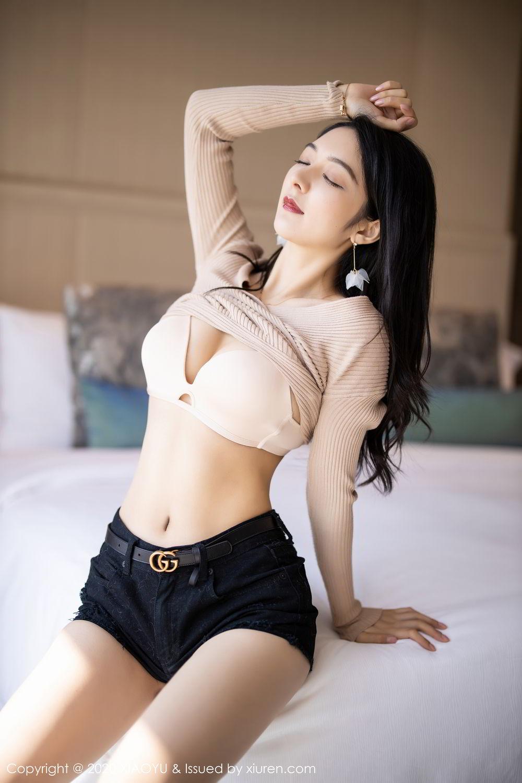 [XiaoYu] Vol.271 Di Yi 16P, Black Silk, Di Yi, Underwear, XiaoYu