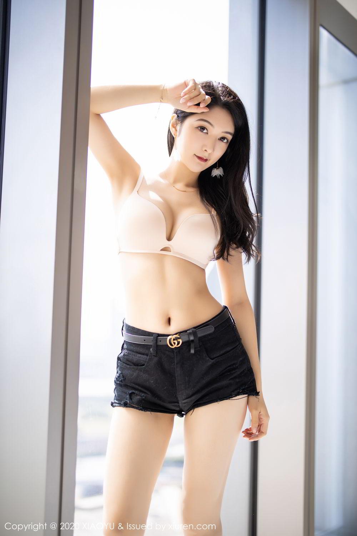 [XiaoYu] Vol.271 Di Yi 19P, Black Silk, Di Yi, Underwear, XiaoYu