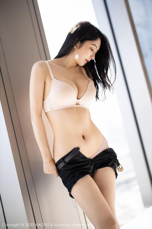 [XiaoYu] Vol.271 Di Yi 1P, Black Silk, Di Yi, Underwear, XiaoYu