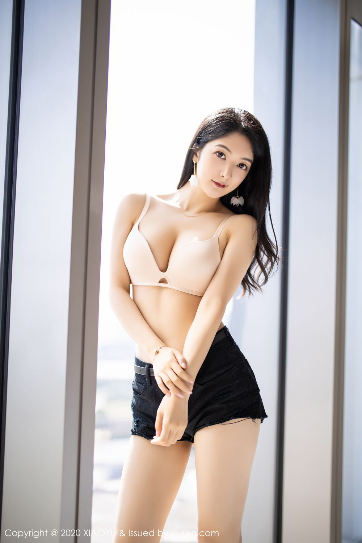 [XiaoYu] Vol.271 Di Yi 20P, Black Silk, Di Yi, Underwear, XiaoYu