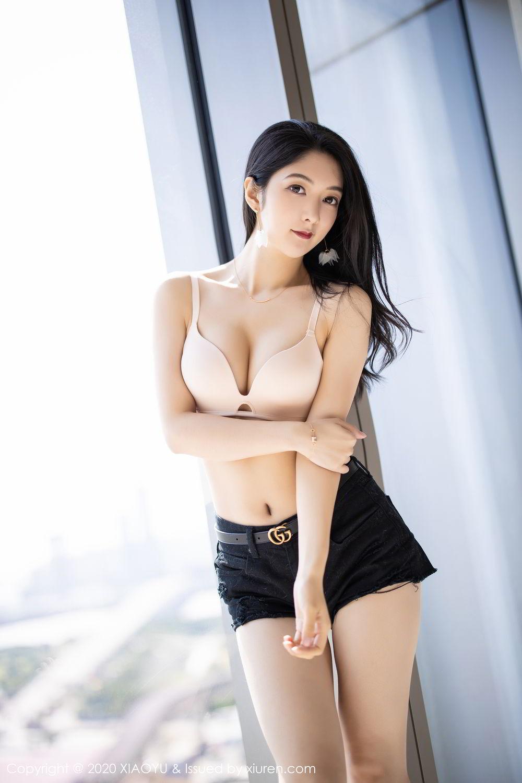 [XiaoYu] Vol.271 Di Yi 22P, Black Silk, Di Yi, Underwear, XiaoYu