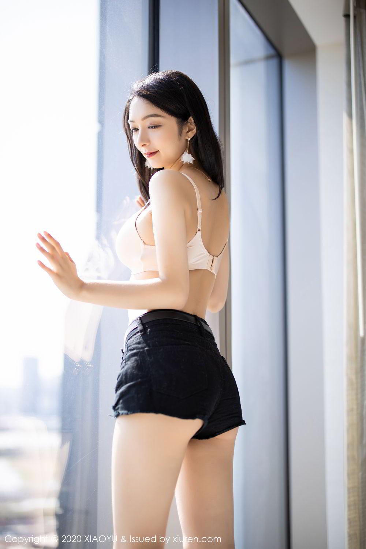 [XiaoYu] Vol.271 Di Yi 23P, Black Silk, Di Yi, Underwear, XiaoYu
