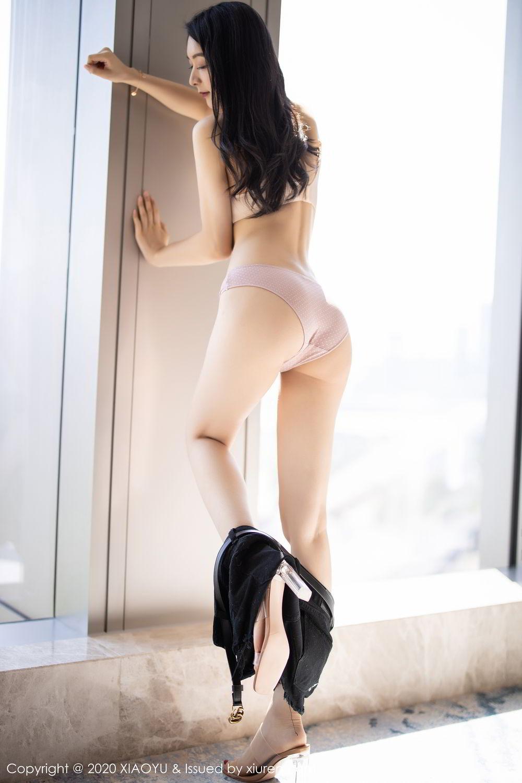 [XiaoYu] Vol.271 Di Yi 2P, Black Silk, Di Yi, Underwear, XiaoYu