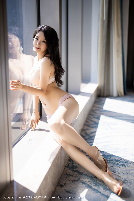 [XiaoYu] Vol.271 Di Yi 32P, Black Silk, Di Yi, Underwear, XiaoYu
