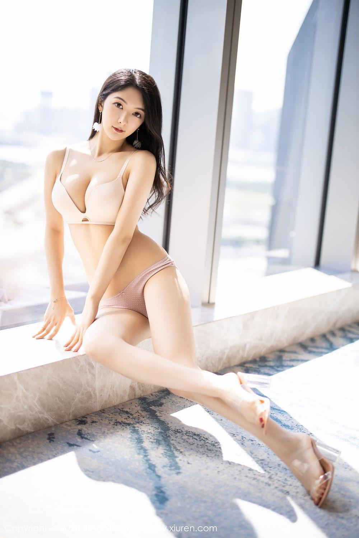 [XiaoYu] Vol.271 Di Yi 35P, Black Silk, Di Yi, Underwear, XiaoYu