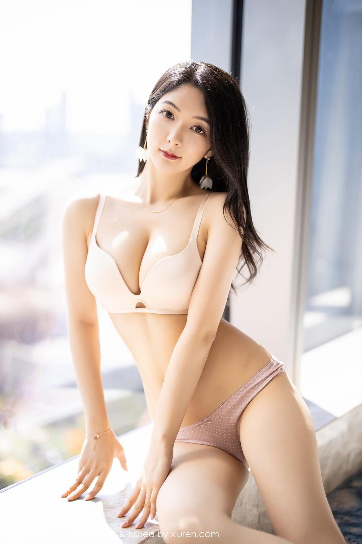 [XiaoYu] Vol.271 Di Yi 36P, Black Silk, Di Yi, Underwear, XiaoYu