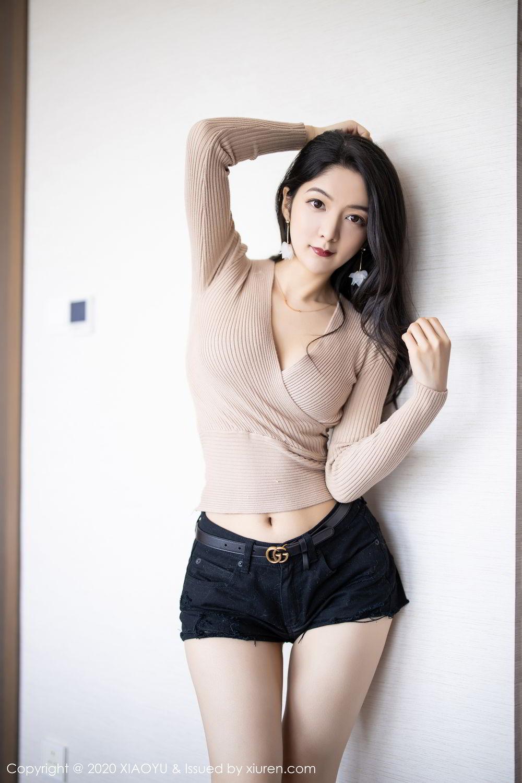 [XiaoYu] Vol.271 Di Yi 39P, Black Silk, Di Yi, Underwear, XiaoYu