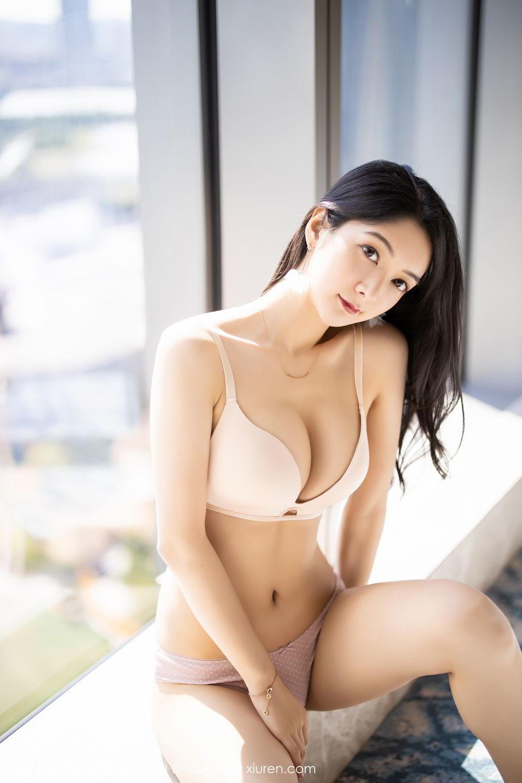 [XiaoYu] Vol.271 Di Yi 45P, Black Silk, Di Yi, Underwear, XiaoYu