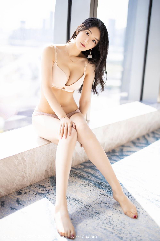 [XiaoYu] Vol.271 Di Yi 46P, Black Silk, Di Yi, Underwear, XiaoYu