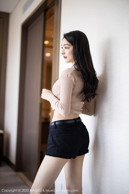 [XiaoYu] Vol.271 Di Yi 54P, Black Silk, Di Yi, Underwear, XiaoYu